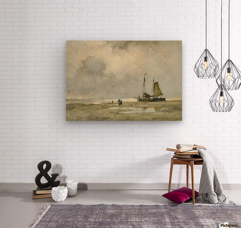 Strandgezicht  Wood print