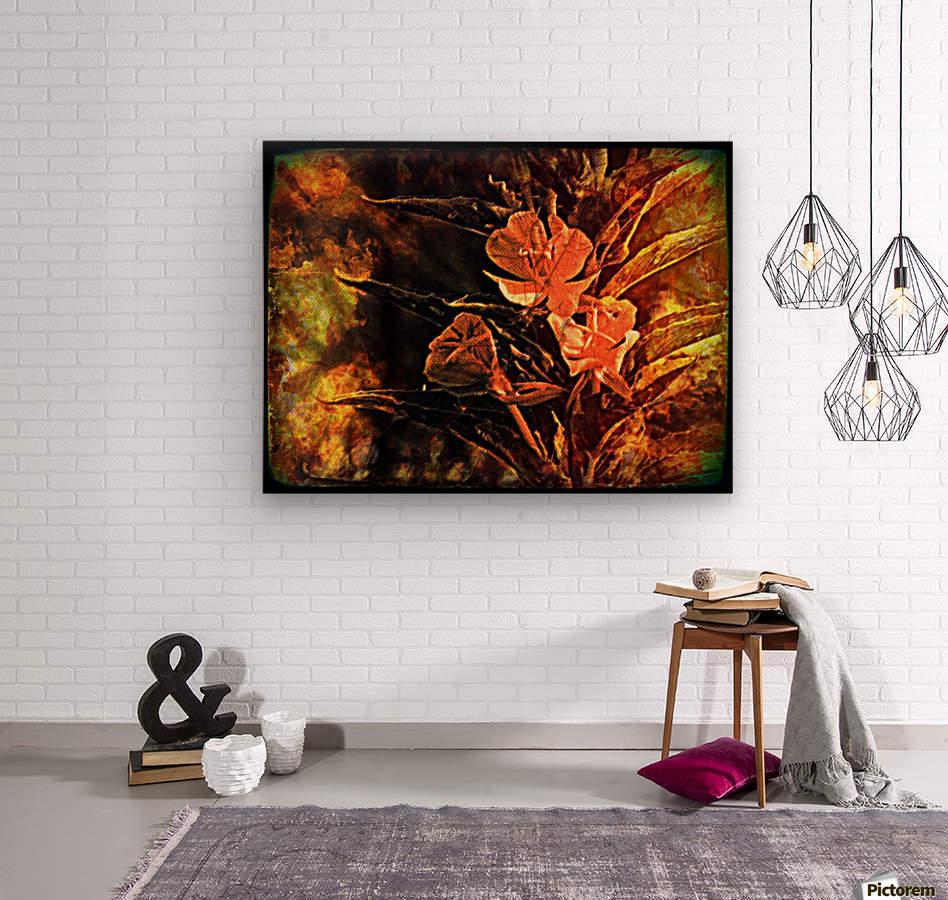 livingroom  Wood print