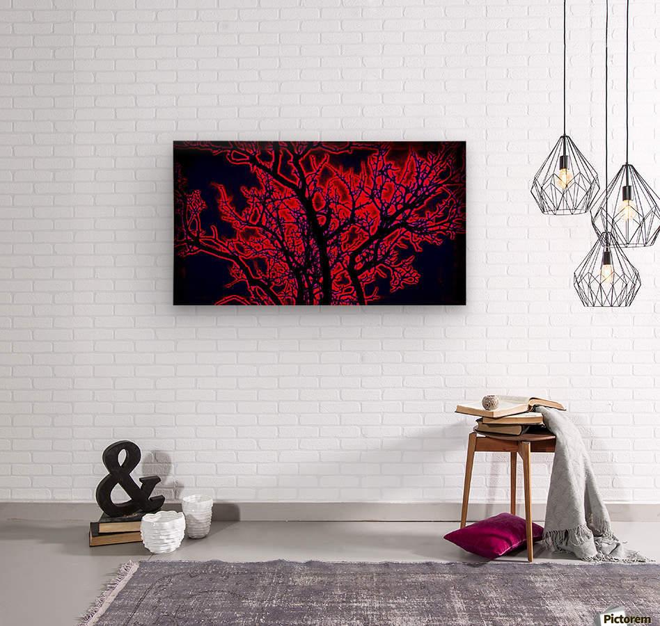 burningtree  Wood print