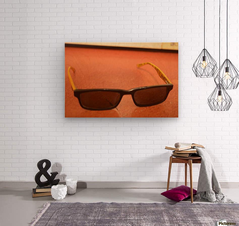 Sun glasses  Wood print