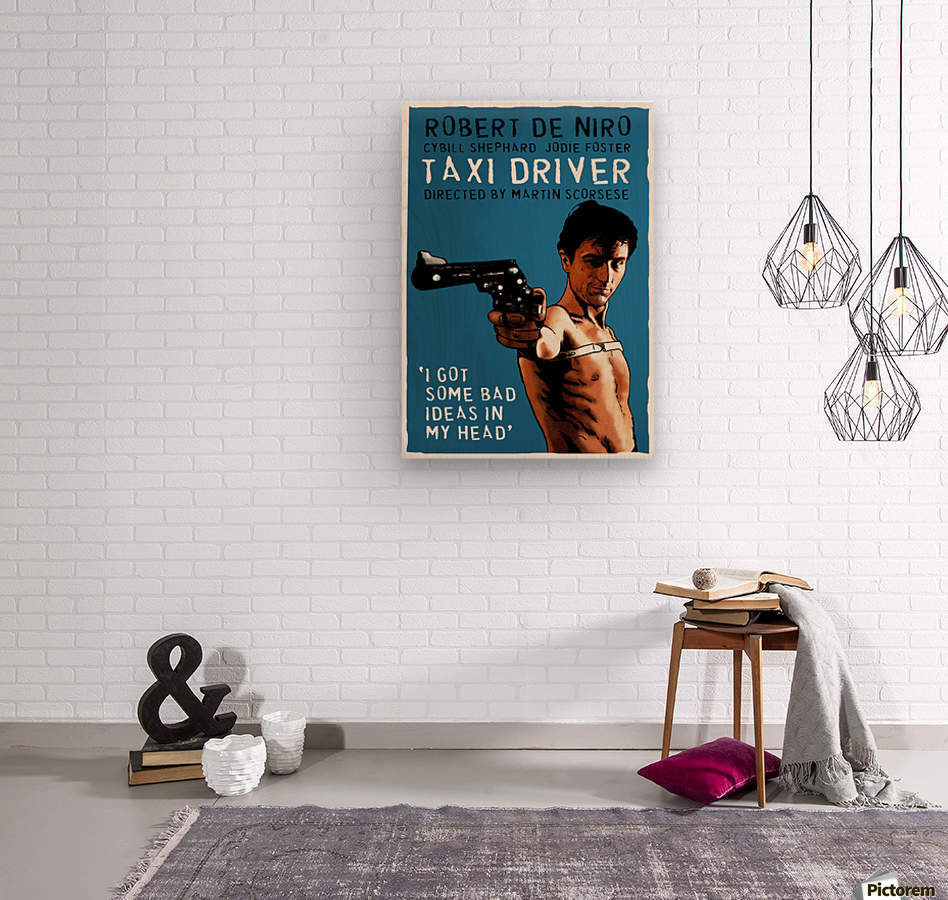 Taxi Driver  Wood print