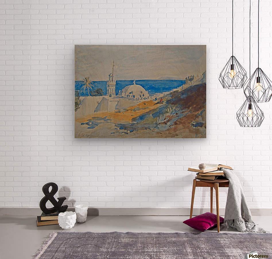 Algiers, Algeria  Wood print