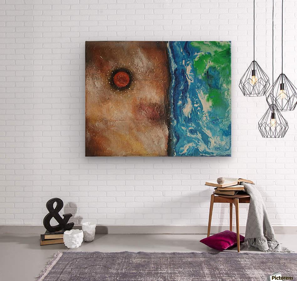 Cosmos Creation 3  Wood print