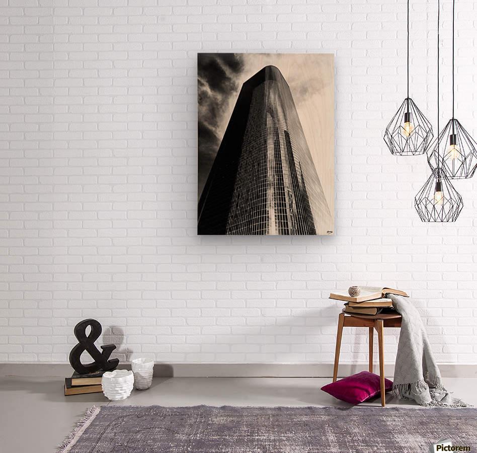CORPORATE NIGHTMARES II  Wood print