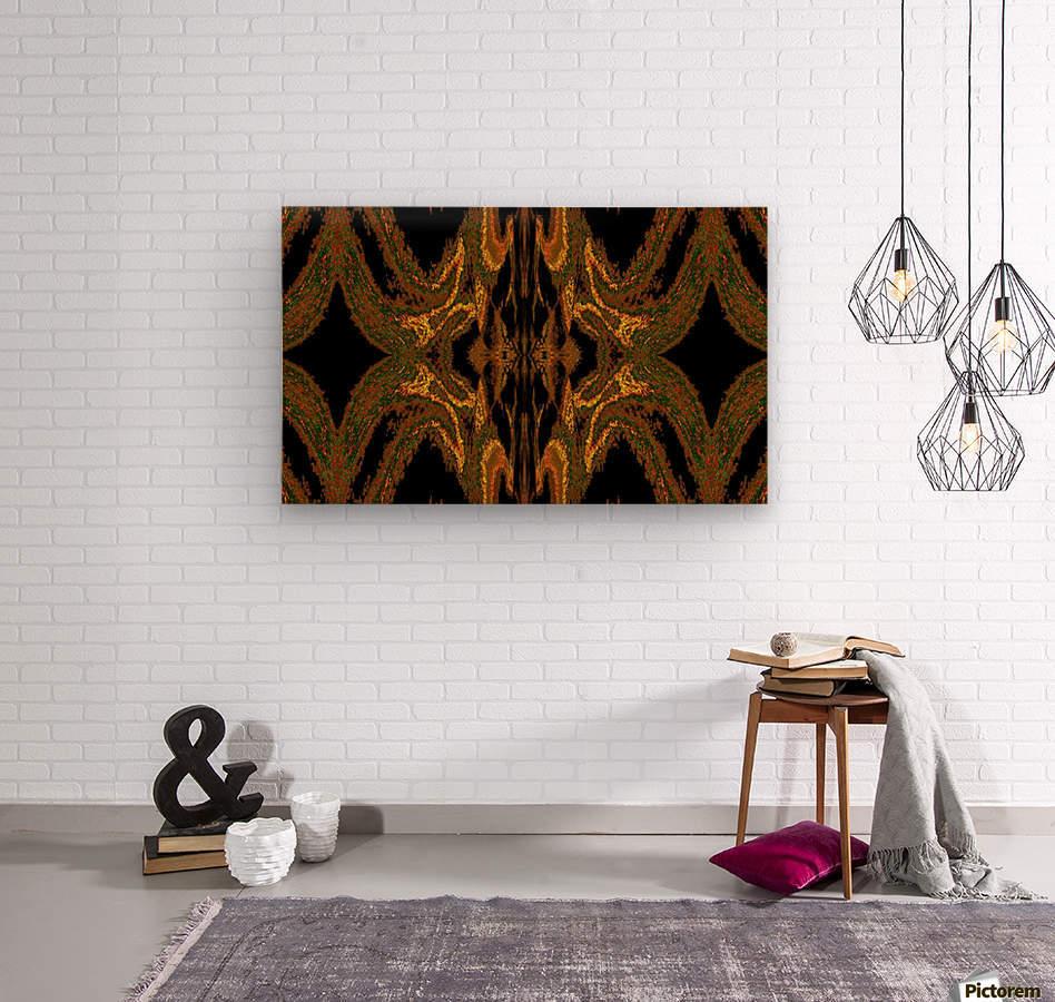 Hidden Butterfly 2  Wood print