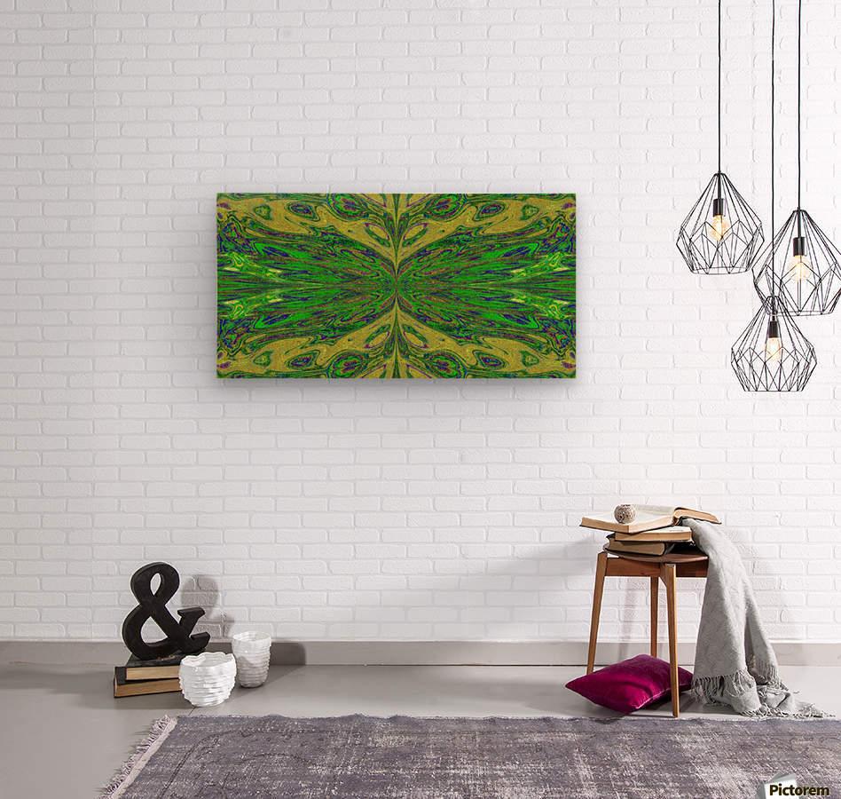 Queen of the Butterflies 7  Wood print