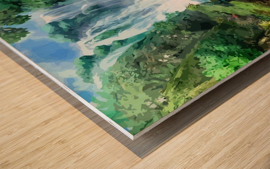 ART  Pinchos  WATER  Baal shem tov VR Wood print