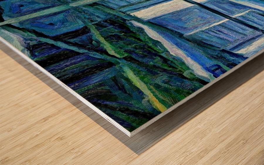 kahouse Wood print