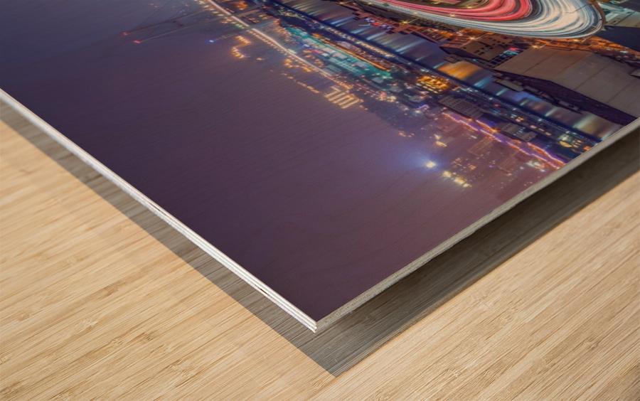 The Nanpu Bridge Wood print