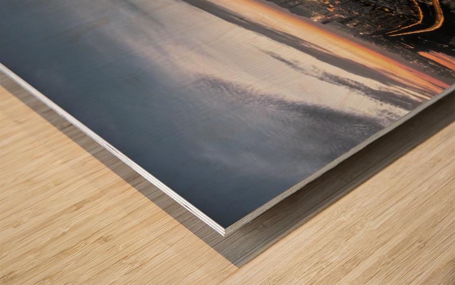 The Trident of Poseidon Wood print