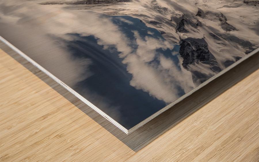 Glacial Wood print