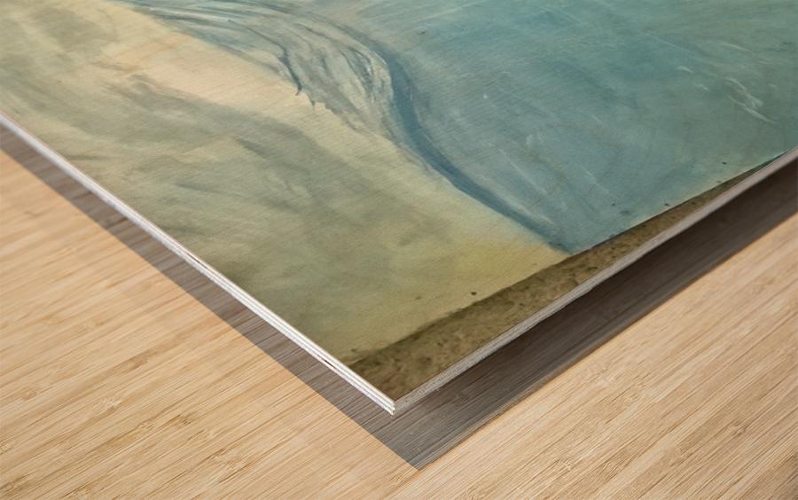 under sea Impression sur bois
