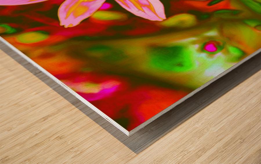 flowerPowerWILD Wood print
