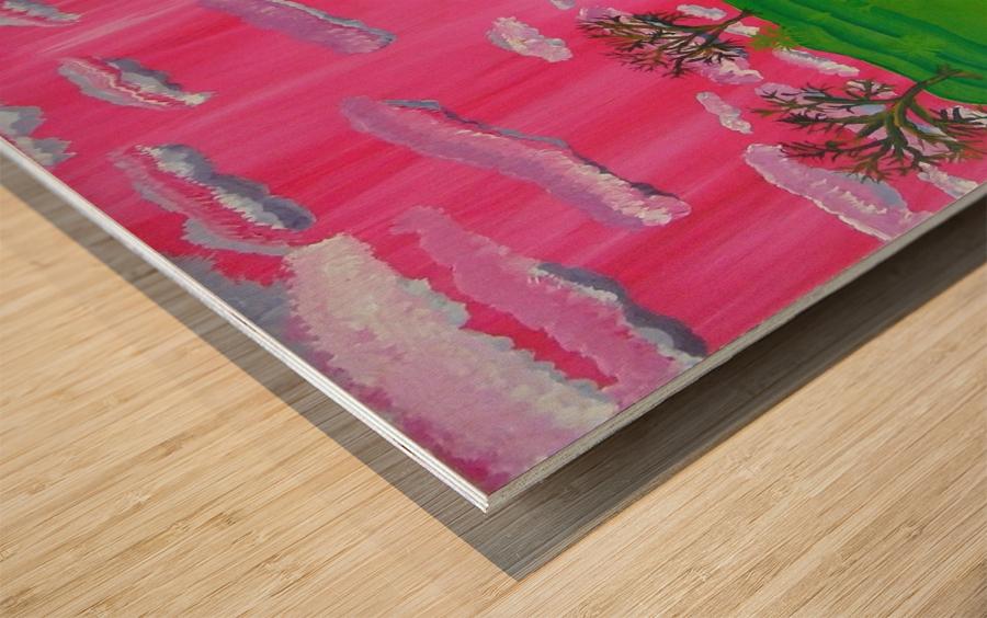 22_022 dream_land R Wood print
