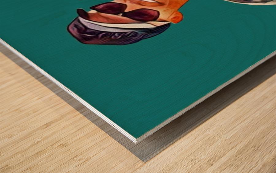 C005 Wood print
