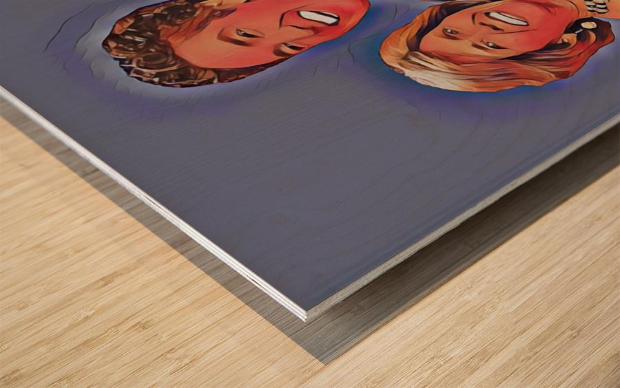 C014 Wood print