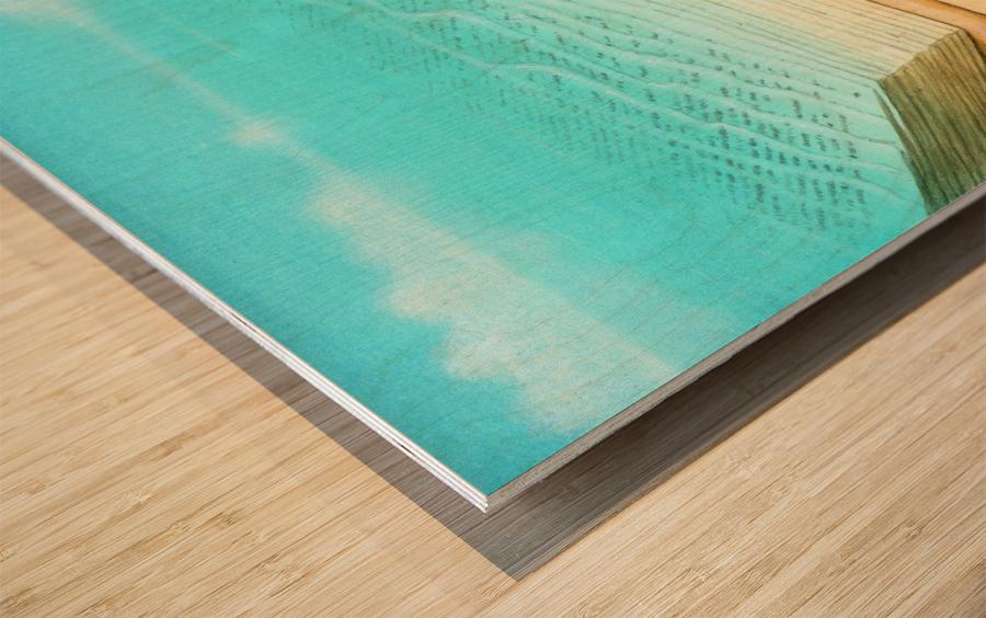 bath Wood print