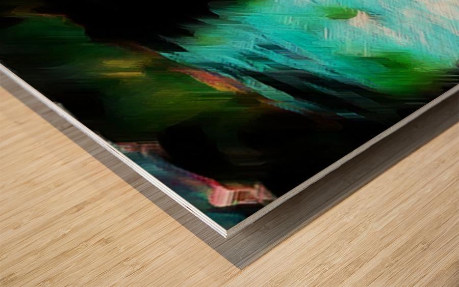 Bergischwasser Wood print