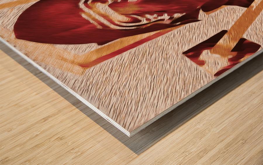 Karneval  Wood print