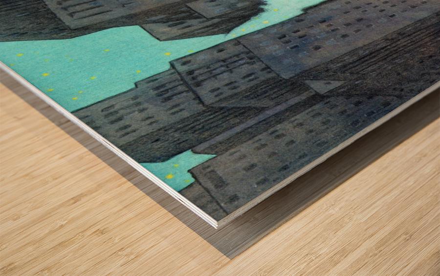 dream book Wood print