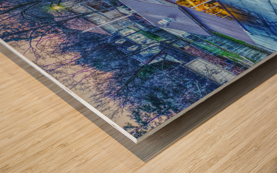 Lonoke, AR | Jackrabbit Dairy Bar  Wood print