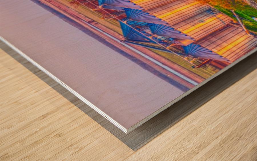 Carlisle, AR | Kittler Grain Bins  Wood print