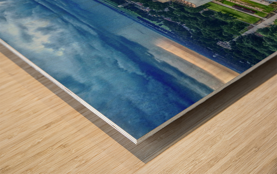 Lonoke, AR | Early morning Virga Wood print