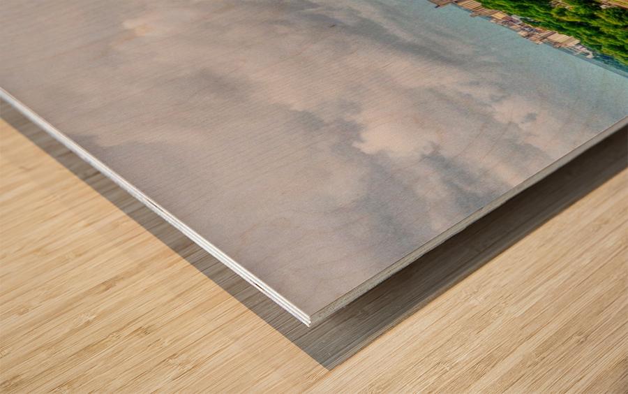 Stuttgart, AR | Water Tower Wood print