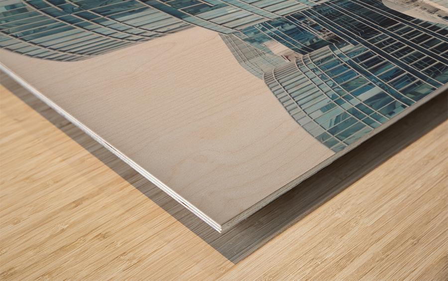 Landmark Wood print
