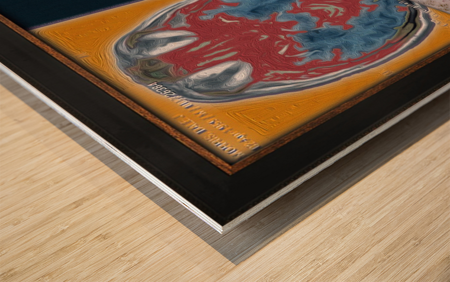 Chronicles 1 Wood print