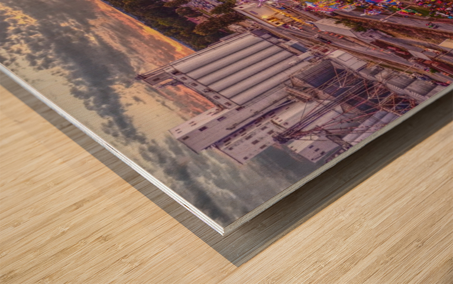 Lonoke AR | Step RightUp Wood print