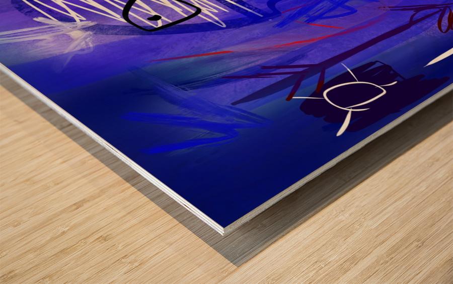 OceanII Wood print