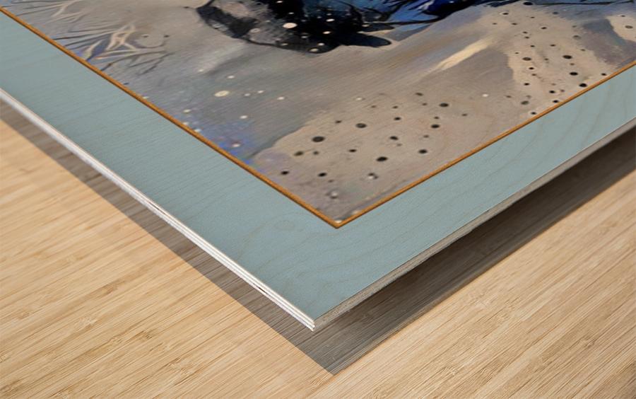 CA100 Wood print