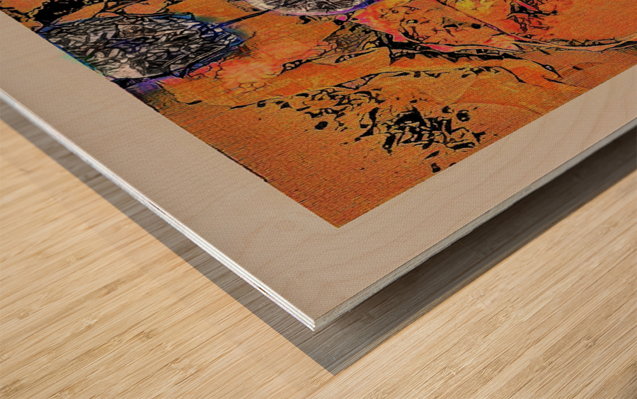 Arcade Auditions Wood print
