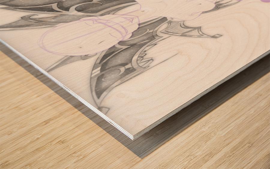 YCH demonix Wood print