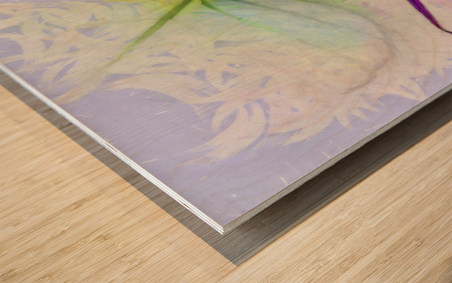 HC0268   Wood print