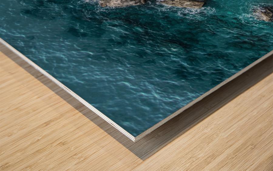 The Beach - Amalfi Coast - Italy Wood print