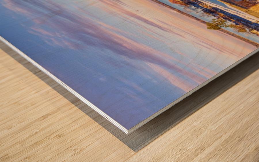 Pine Bluff,  AR | Downtown Wood print