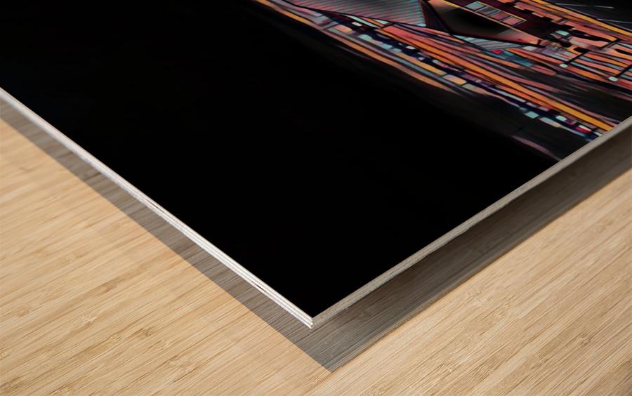 Vilonia Water 3 Wood print