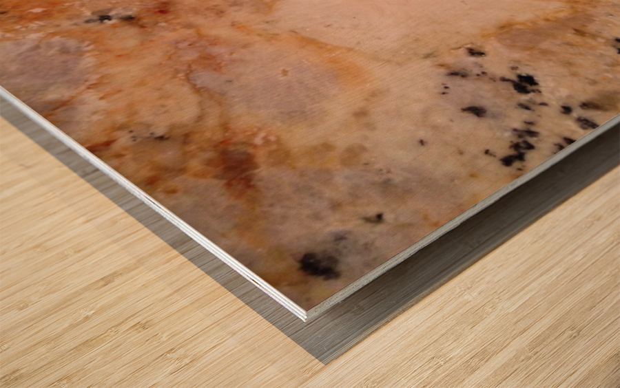 Marble from a Kitchen Countertop Wood print