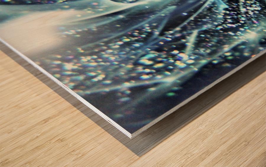 GalaxyInGlassC001 Wood print