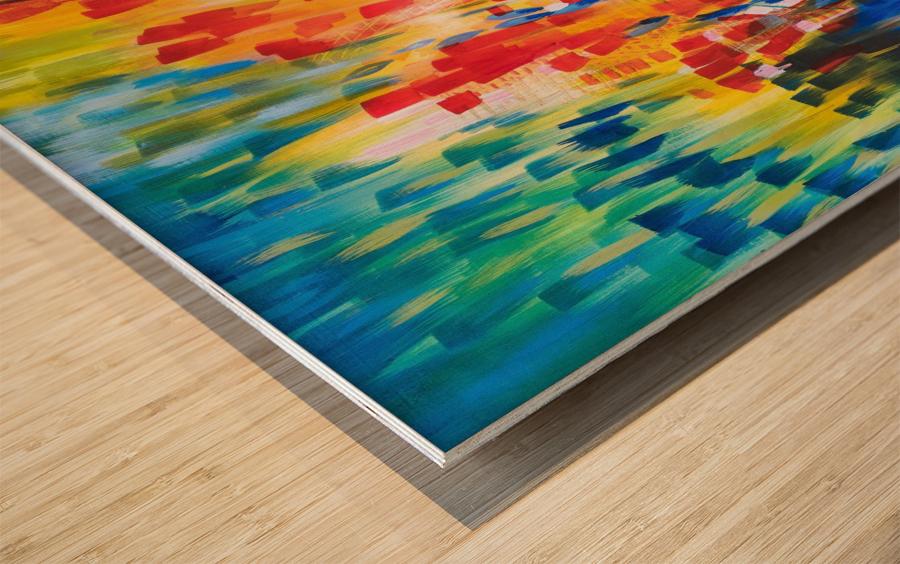 Dream Catching Wood print