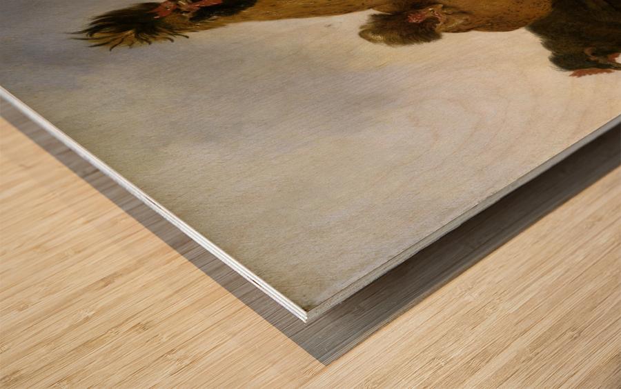 Aelbert Cuyp Rooster Wood print