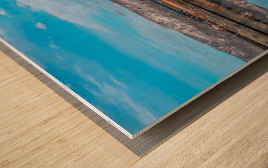 Cheticamp Skies Wood print