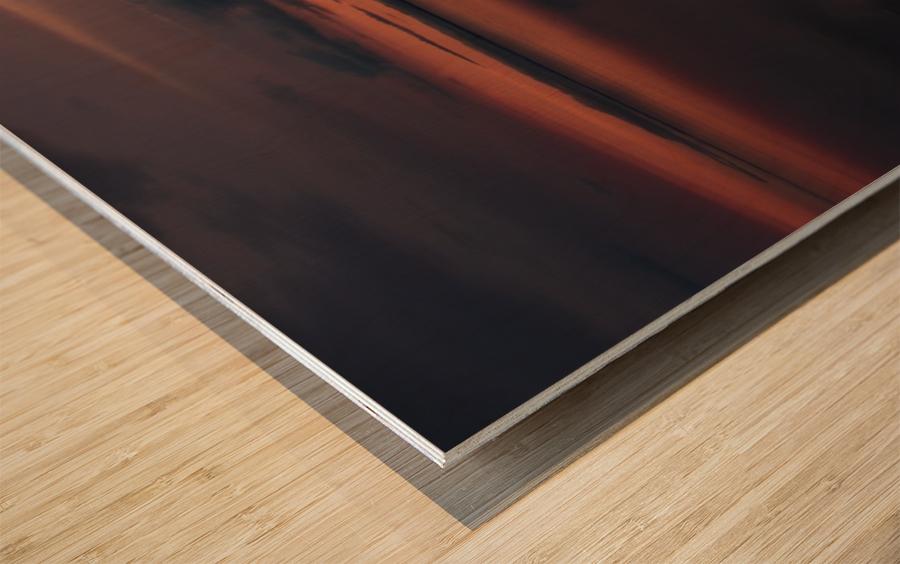 The Last Hour - La Derniere Heure Wood print