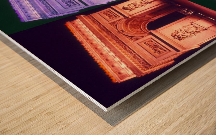 ARC at MIDNIGHT Wood print