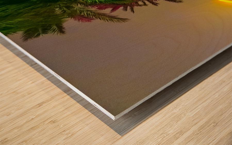 Downtown Fogg Wood print