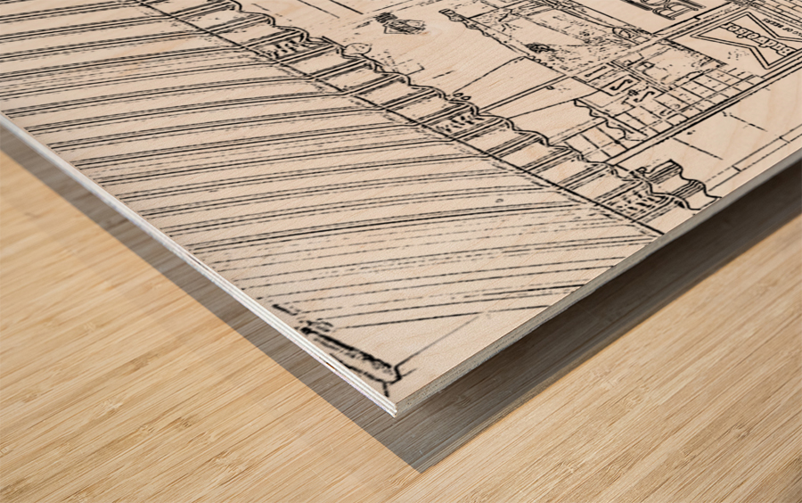 Booches Wood print