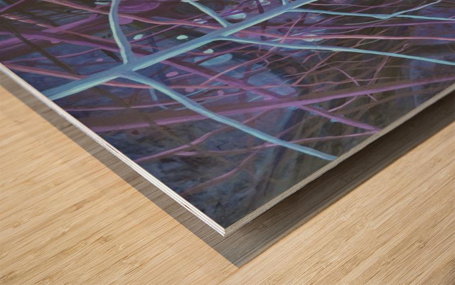 Forest of wisdom (4)_1526764884.65 Wood print
