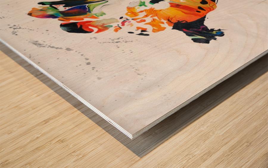 Monde Wood print
